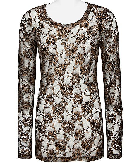 Gorgeous pattern, there are so many different things I could do with this top!