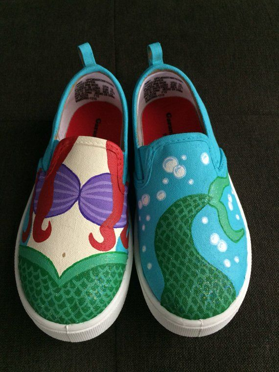 MERMAID shoes - VANS hand painted  5f6b4f9d4