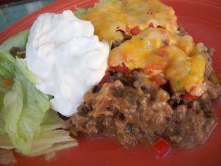Gluten Free Country Girl: Gluten Free Burrito Bake