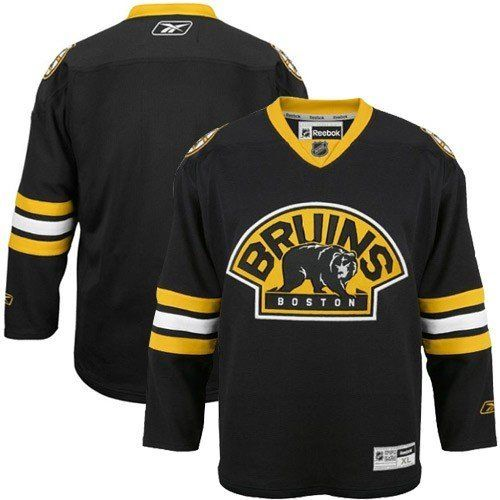 1aa2891cc52 Boston Bruins Reebok Premier NHL Road Jersey