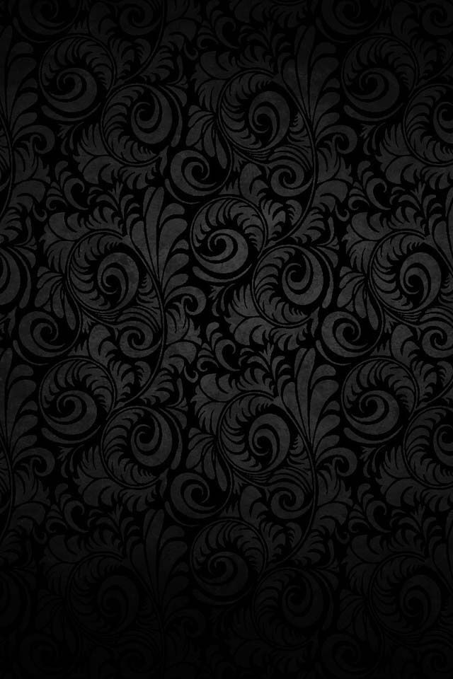Vintage Black Pattern Wallpaper Phone Wallpaper Android Wallpaper Bow Wallpaper