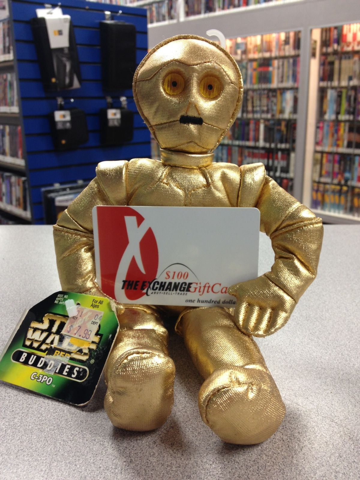 C3PO and a Gift Card...
