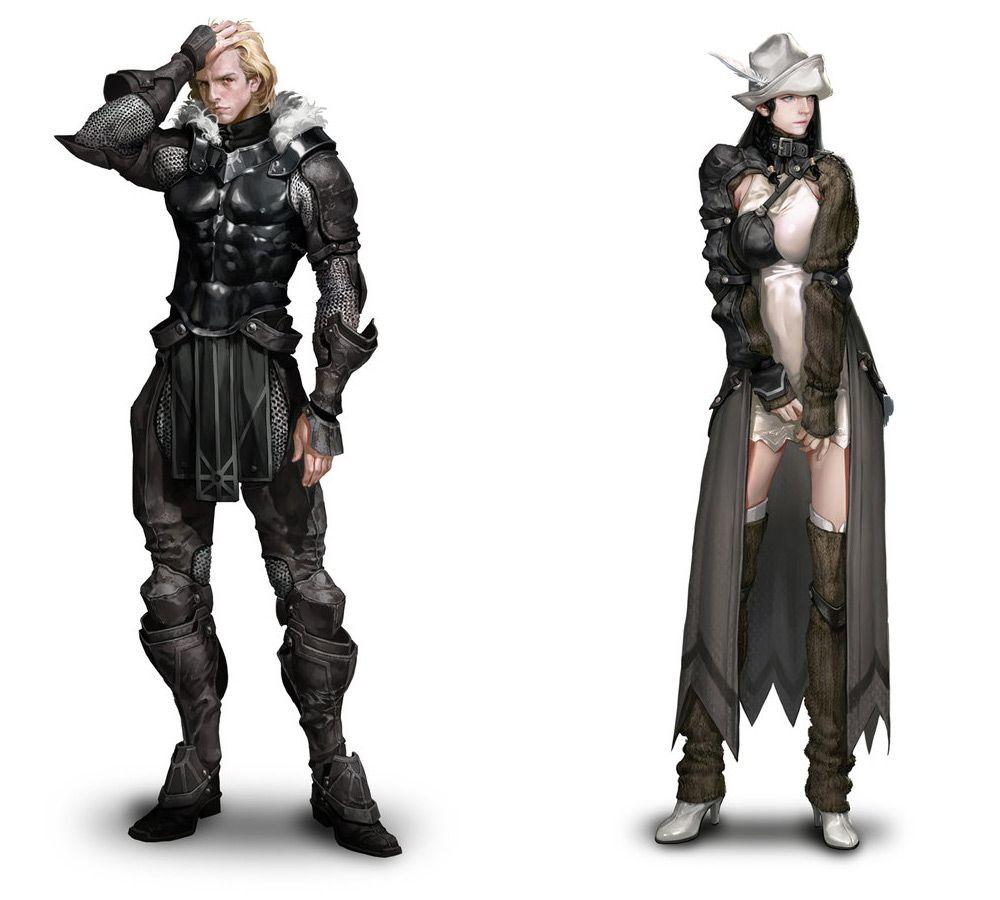Sreng & Neamhain from Mabinogi II: Arena