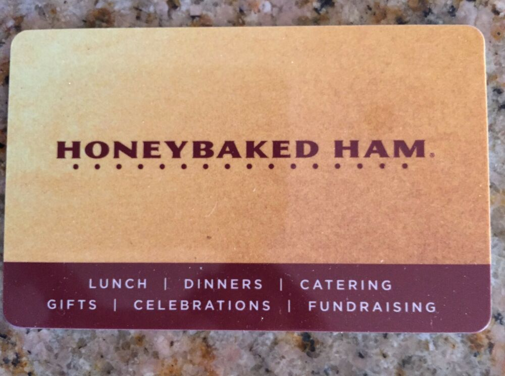 Honey Baked Ham Gift Card Where To Buy 2021