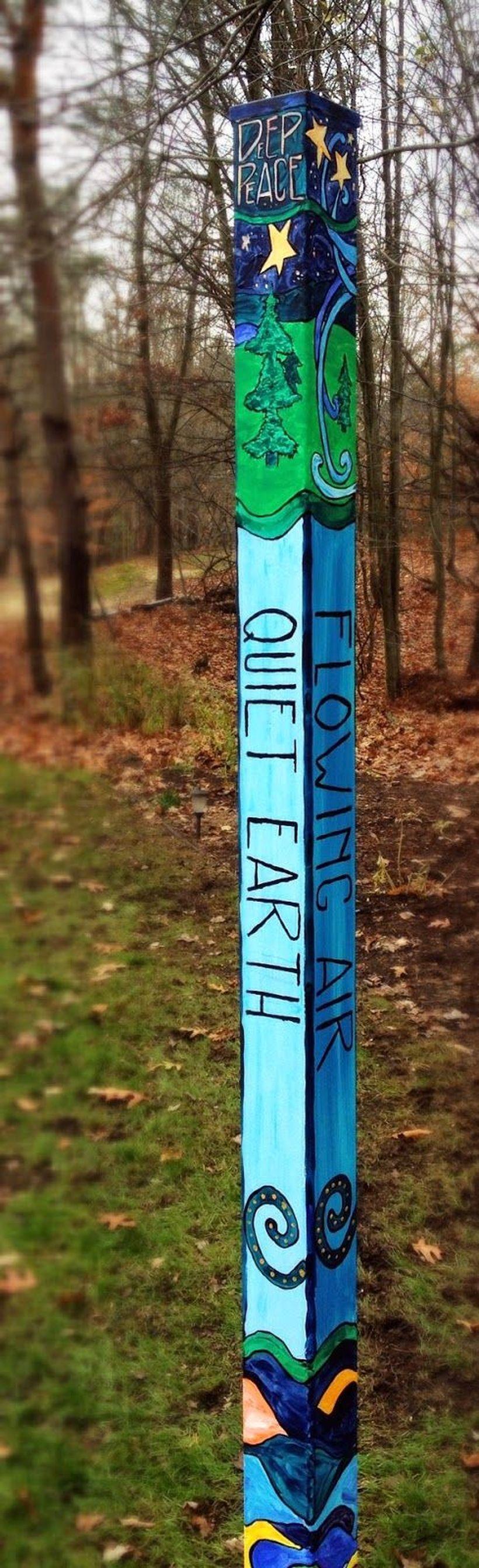 25 colorful peace poles design ideas for your garden https