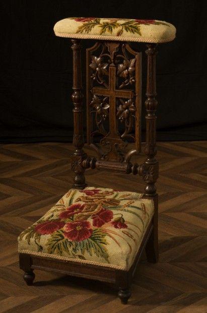 Chaise Ancienne Prie Dieu Ancien Debut Xxeme Siecle Meuble Ancien Piece Unique Objet D Antiquite Prier Dieu Chaise Ancienne Idees Pour La Maison
