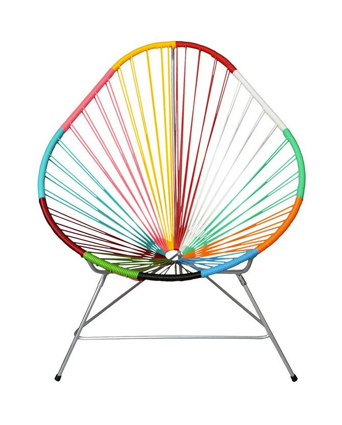 Acapulco Chair Multicolor By Kitsch Kitchen Machin Acapulco