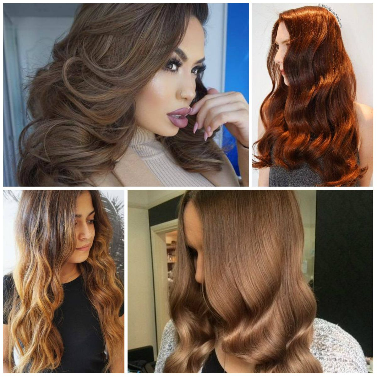 Pictures Of Different Shades Of Brown Hair Color Best New Hair