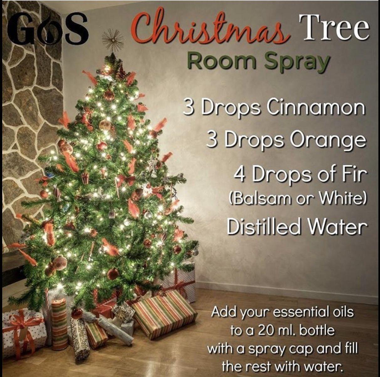 Christmas Tree Room Spray Christmas Tree Room Spray Essential Oil Uses