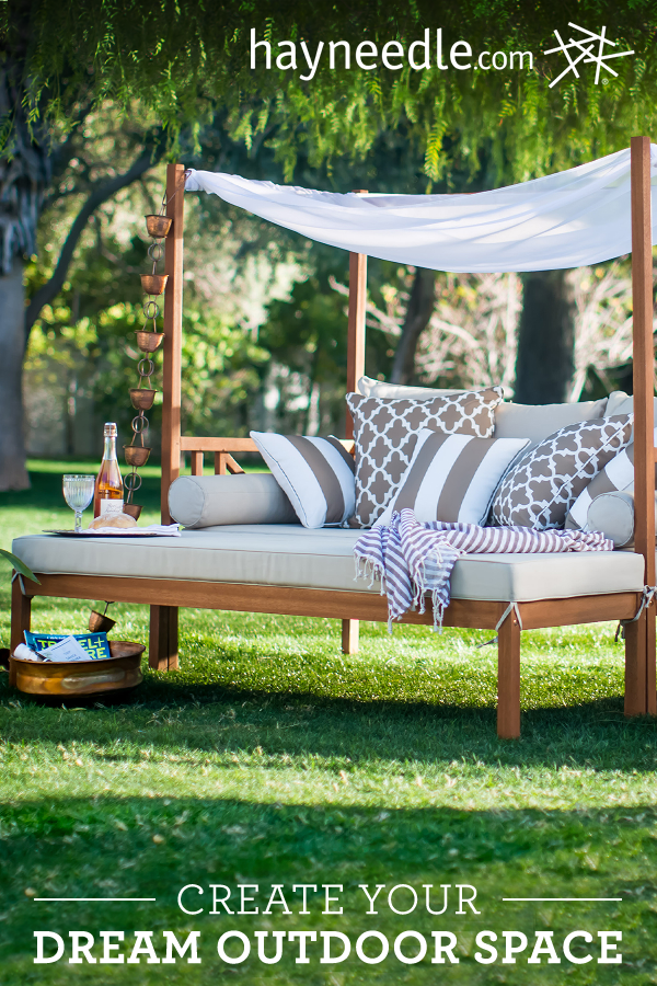 Create your dream backyard space with beautiful and ... on Belham Living Brighton Outdoor Daybed  id=13757