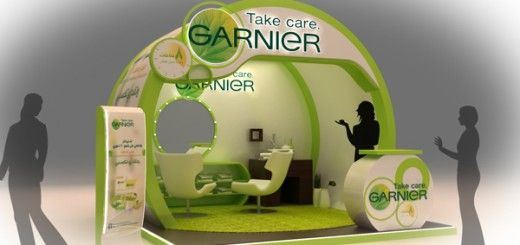 Garnier Skin Care Products Booth-1