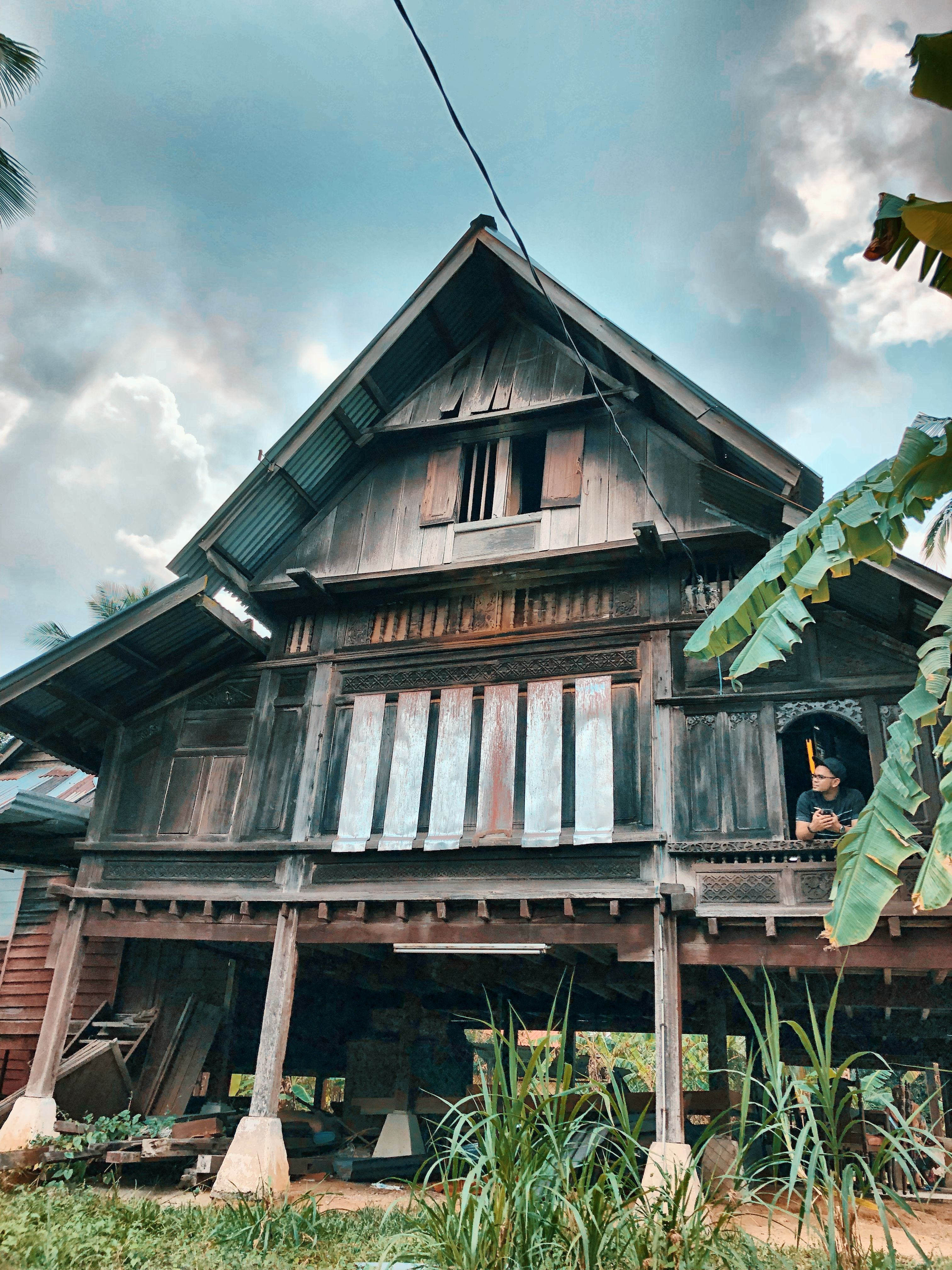 Idea by roy terachi on RUMAH KAMPUNG MELAYU House styles
