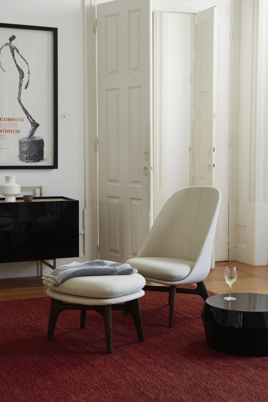 Solo Ottoman By De La Espada Now Available At Haute Living Chair Lounge Chair Furniture