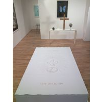 """""""New Religion """" Instalation at  old   Paul Stolper Gallery"""