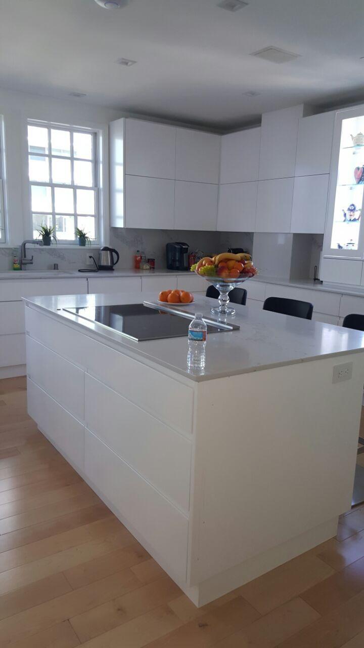 Modern and simple kitchen design los angeles מטבחים העיצובים של
