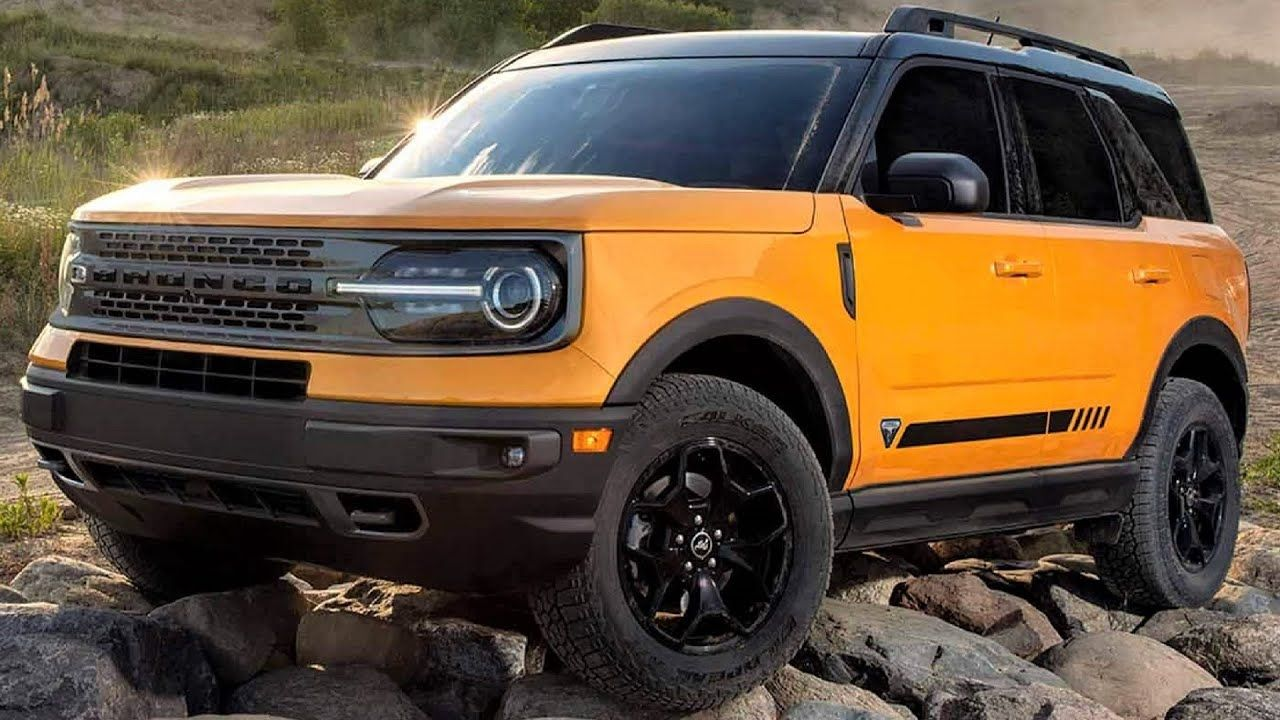 2021 Ford Bronco Sport Legendary Rugged Small SUV in