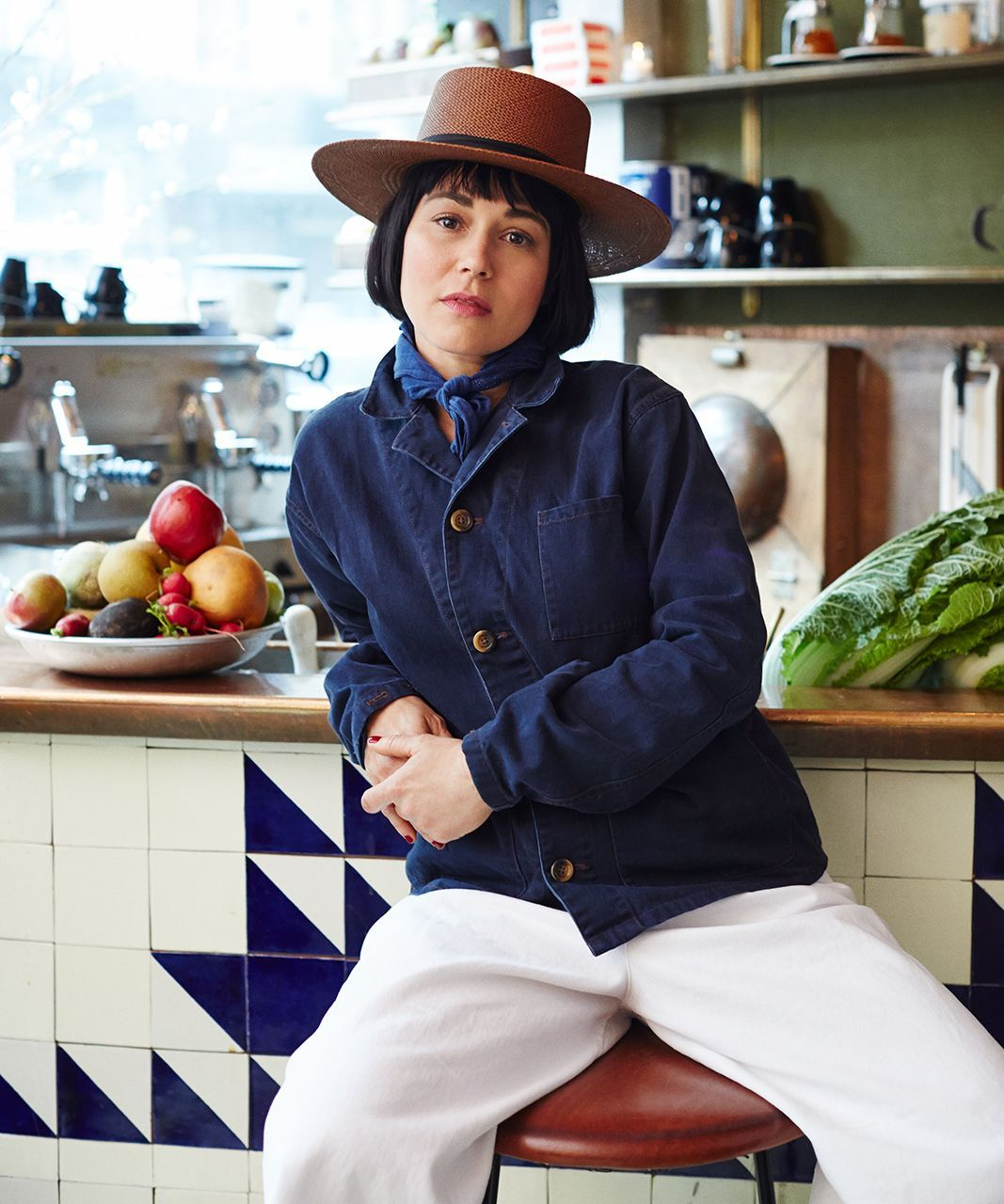 Small-Space Kitchen Tips — How To Cook At Home   Camille Becerra, chef at NYC restaurant Navy, spills her tips on creating a kitchen environment that actually encourages you to cook. #refinery29 http://www.refinery29.com/small-space-kitchen-tips