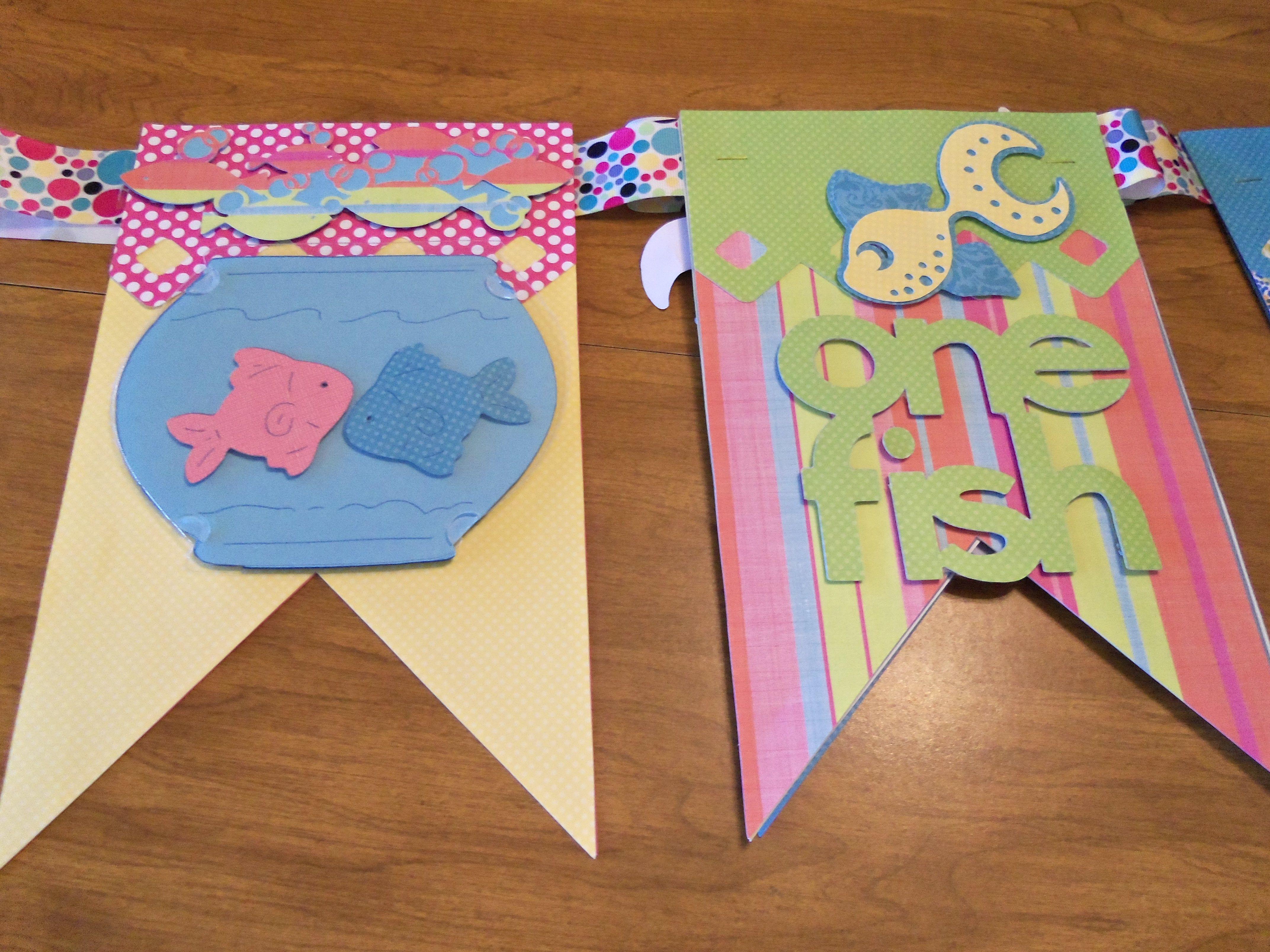 Baby banner   Scrapbook crafts, Baby banners, Crafts