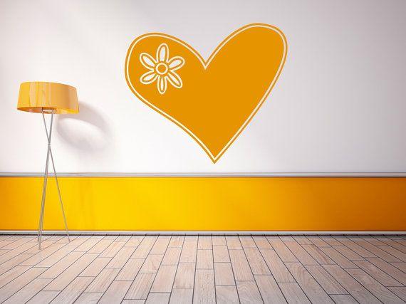Heart Wall Decal - Heart Vinyls - Nursery Room Decor - Valentines ...