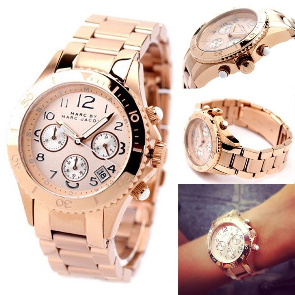 Electronics Cars Fashion Collectibles Coupons And More Ebay Chronograph Watch Rose Gold Gold Watch