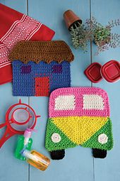 Ravelry: House dishcloth pattern by Mary Beth Temple