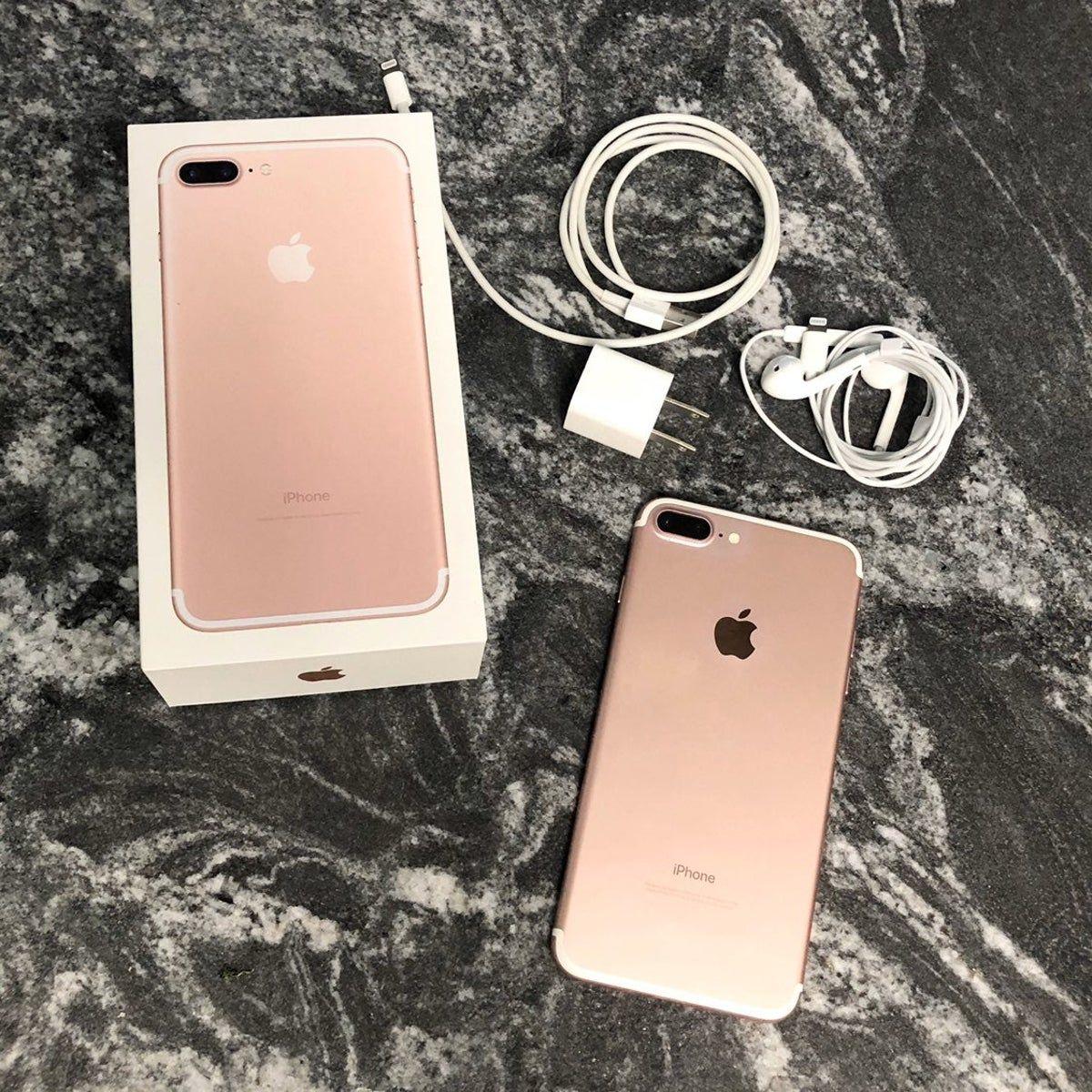 Iphone 7 Plus Rose Gold 32 Gb Unlocked Iphone 7 Plus Iphone Iphone 7