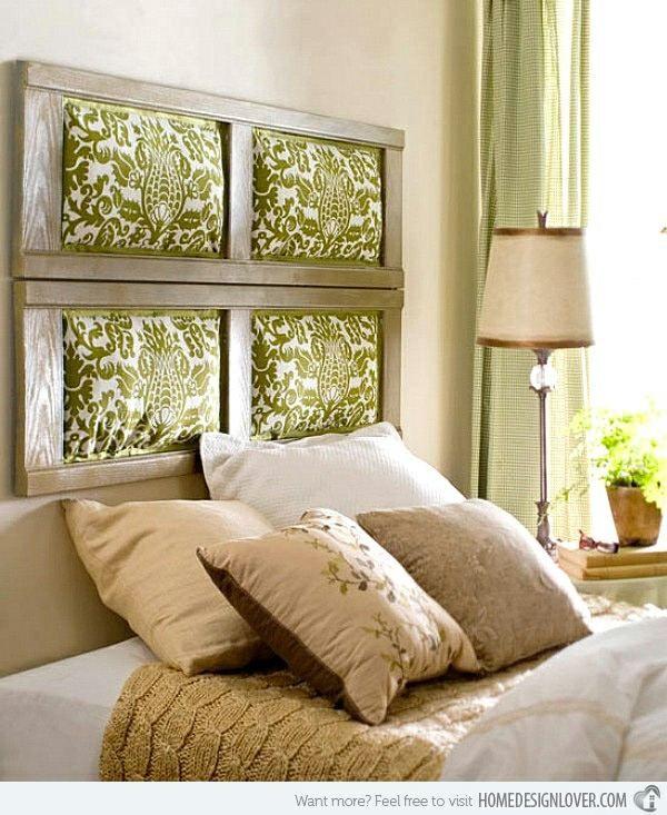 Uberlegen Verkleide Dein Schlafzimmer Mit Einem Originellen Kopfteil #betthaupt #cama  #diy #paletten #