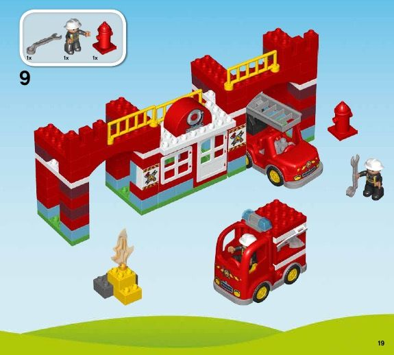 Duplo Fire Station Lego 10593 Projects Pinterest Lego And