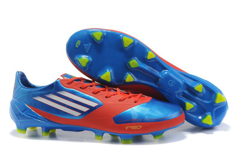 Adidas F50 Adizero TRX FG Soccer Cleats Blue Red Cheap Soccer Cleats 8ee55cd71d