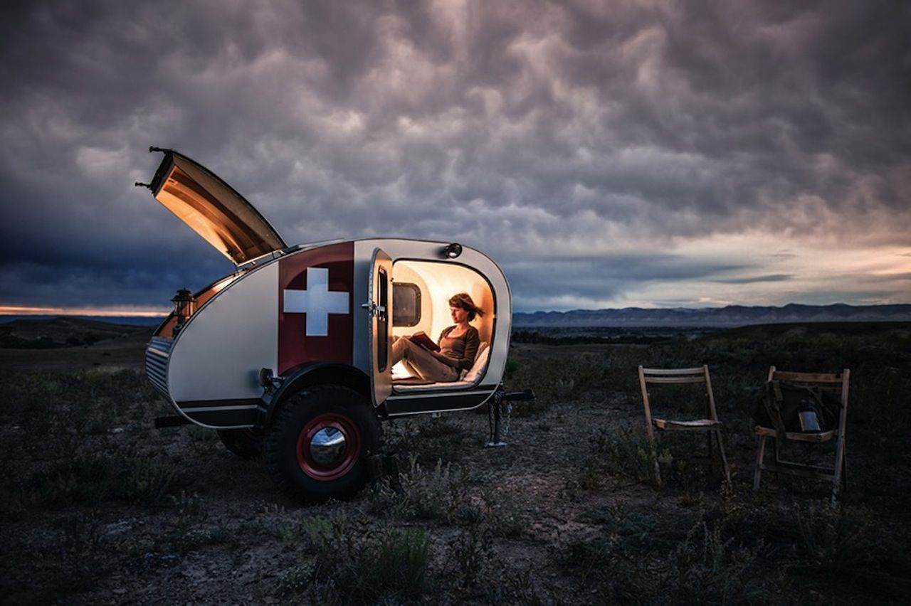 Teardrop Vintage Overland caravana 01 | Places I love | Pinterest ...