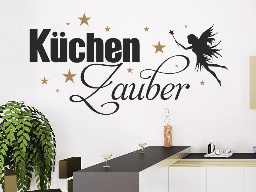 Küchenzauber mit Sternen und Fee