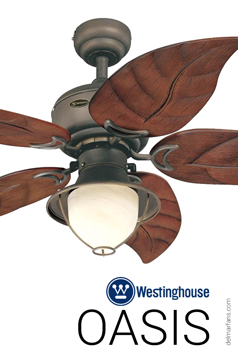 Designed Especially For Patios Verandas And Gazebos The Oasis Outdoor Ceiling Fan By