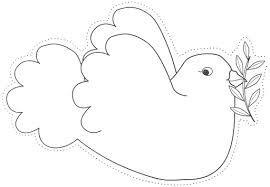 Dibujos De Palomas Blancas En Pinterest Buscar Con Google Chrismon Patterns Templates Printable Free Coloring Pages
