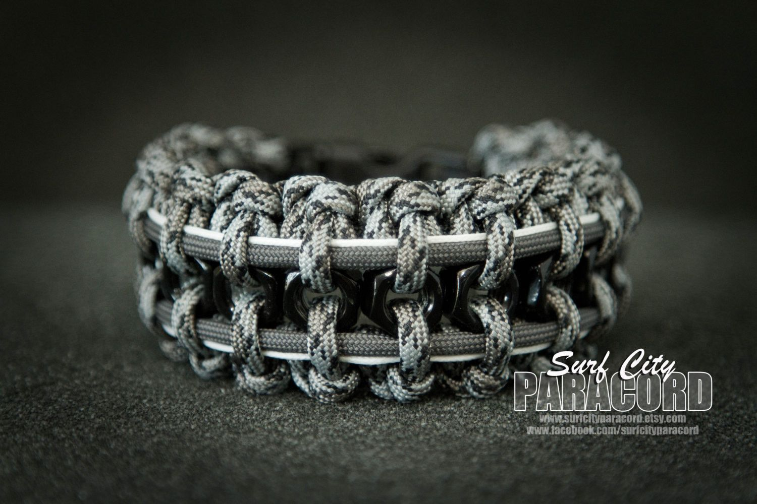 The Ultra Cool Hex Nut Paracord Bracelet Designed By Kevin House