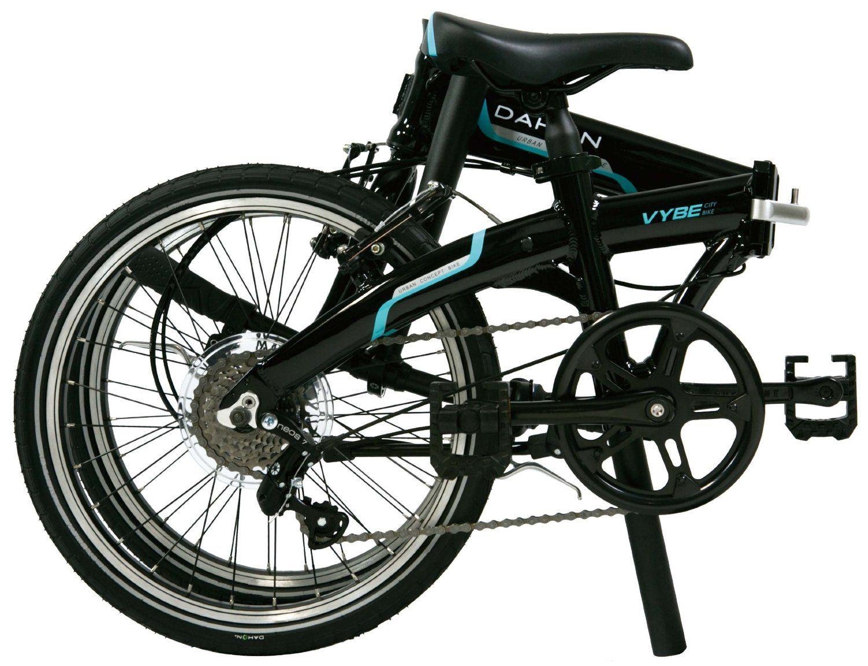Dahon Vybe D7 Folding Bike 1 7 Speed Shimano 2 Folded Size