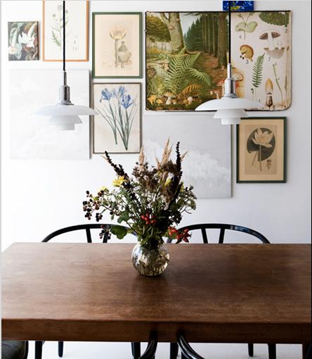 Dining Room Art Prints: Art For The Kitchen & Dining Room: Vintage Botanical