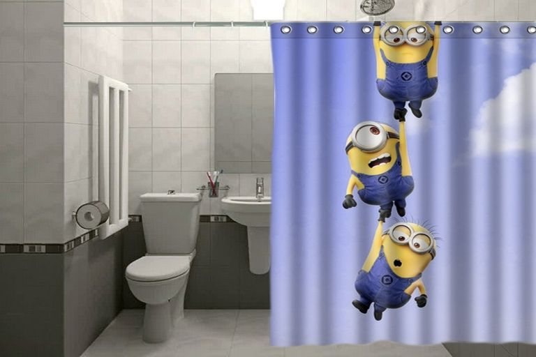 Movie Despicable Me Minions Custom Shower Curtain 60x72 Inch