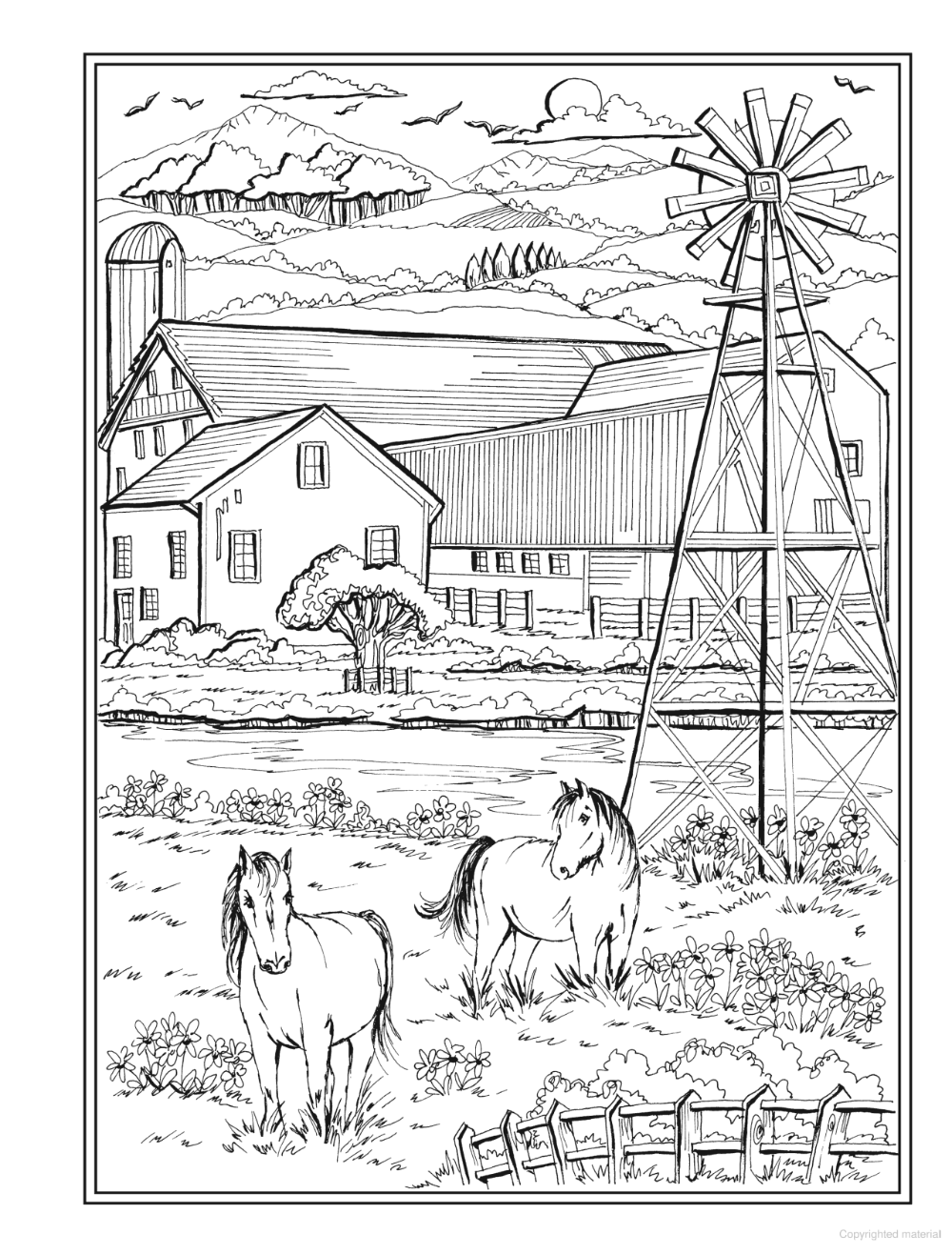 Creative Haven Country Charm Coloring Book In 2020 Coloring Books Country Charm Rustic Table Setting