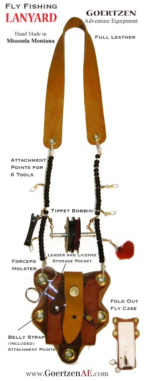17 best images about fly fishing lanyard on pinterest | vests, Fly Fishing Bait