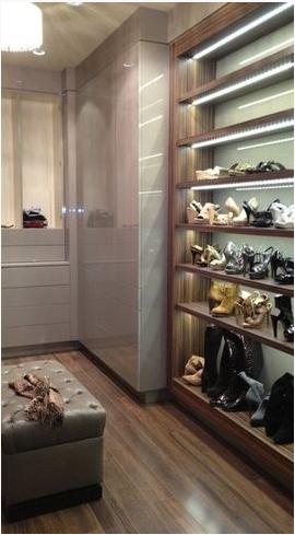 VESTIDOR. Estanteria para zapatos   Ideas para vestidores ...