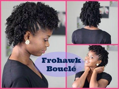 Coiffure Cheveux Crépus Frohawk Bouclé YouTube