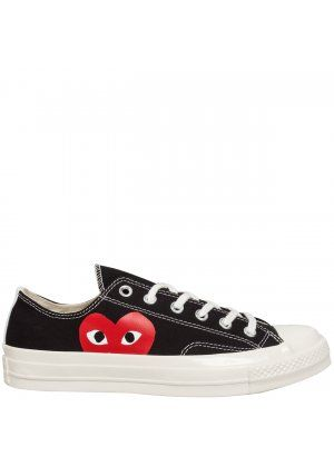Comme des Garcons Play PLAY Converse Chuck Taylor Low Black