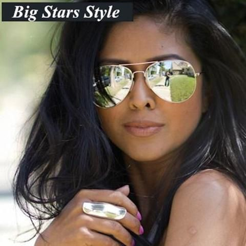 womens designer aviator sunglasses  Luxury Brand Design Aviator Sunglasses Women Brand Designer 2016 ...
