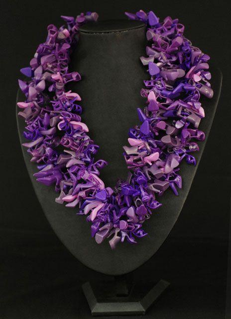 amazing! doll shoe necklace