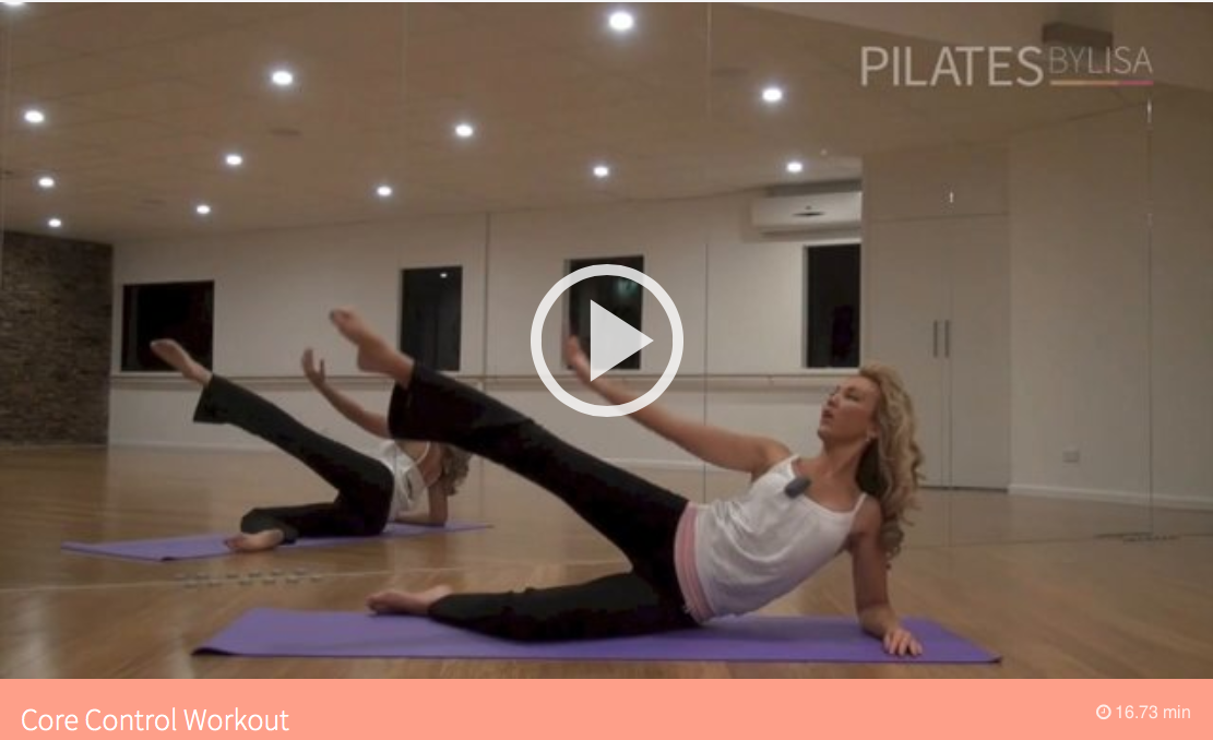 Pilates by Lisa (With images) 7 day workout plan, 7 day