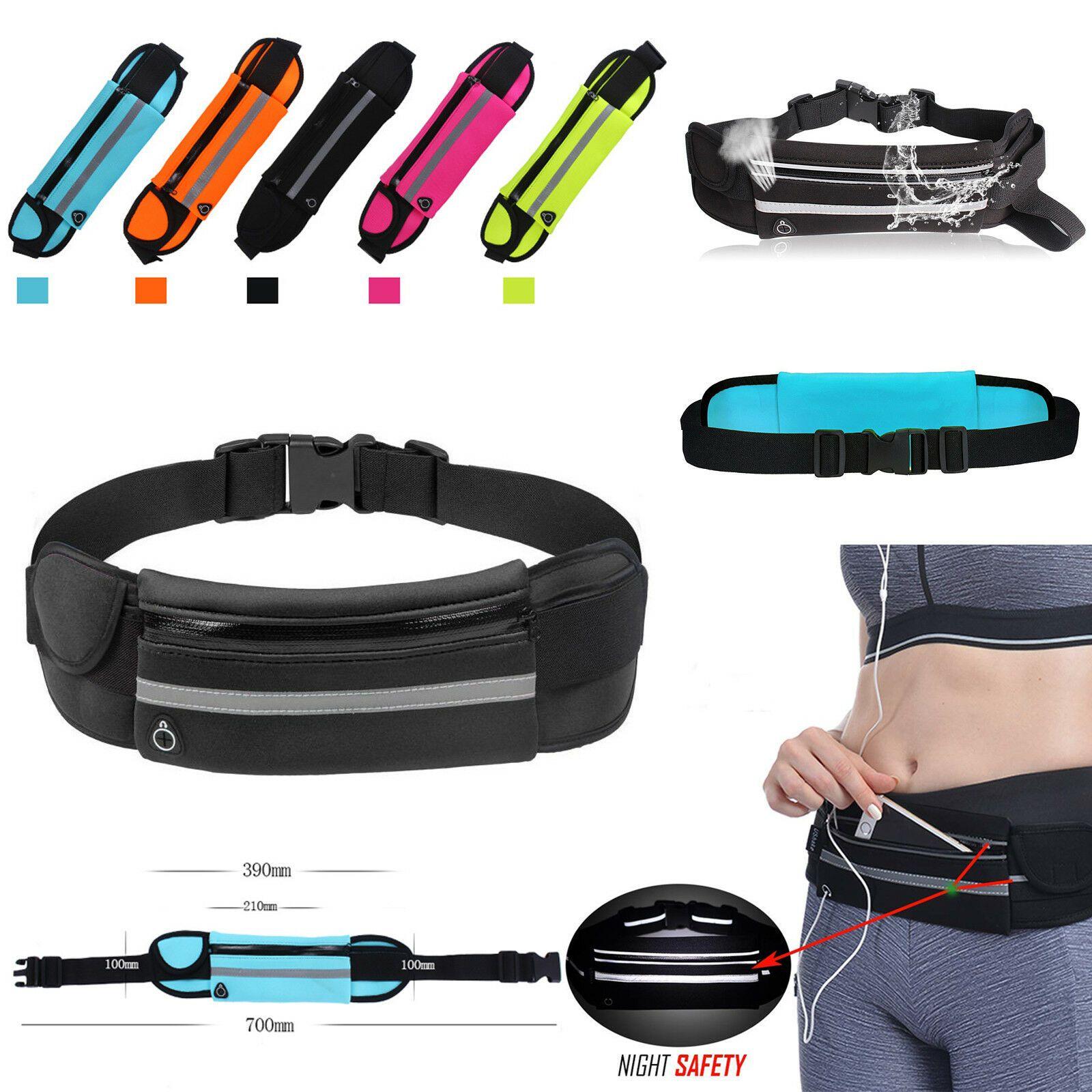 Unisex Bum Bag Waist Belt Pouch Sport Running Jogging Mobile Money Pack Outdoor