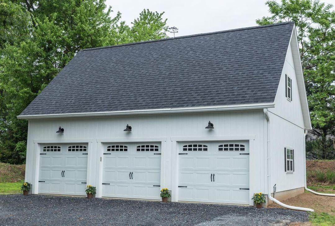 30 Astonishing House Design Ideas With With Car Garage Prefab Garages Garage Exterior Garage Door Design