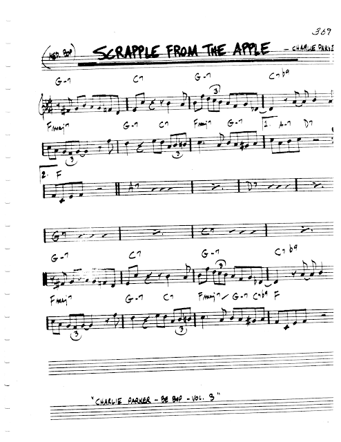 Jazz Real Book I Page 369 Scrapple From The Apple Charlie Parker Jazz Standard Sheet Music Jazz Standard Sheet Music Jazz Sheet Music