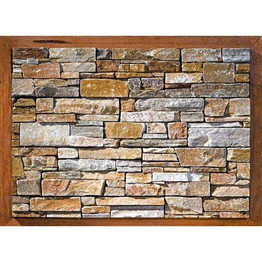 plaquette de parement stonepanel orient en pierre naturelle multicolore maison pinterest. Black Bedroom Furniture Sets. Home Design Ideas