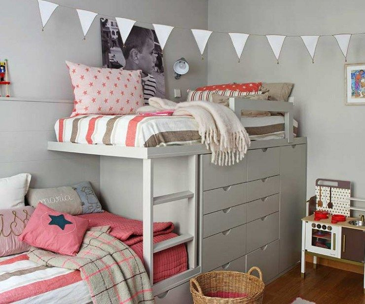 Une Chambre Pour Deux Planete Deco A Homes World Bunk Bed